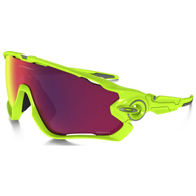 Oakley Jawbreaker Brillenglas geel/roze
